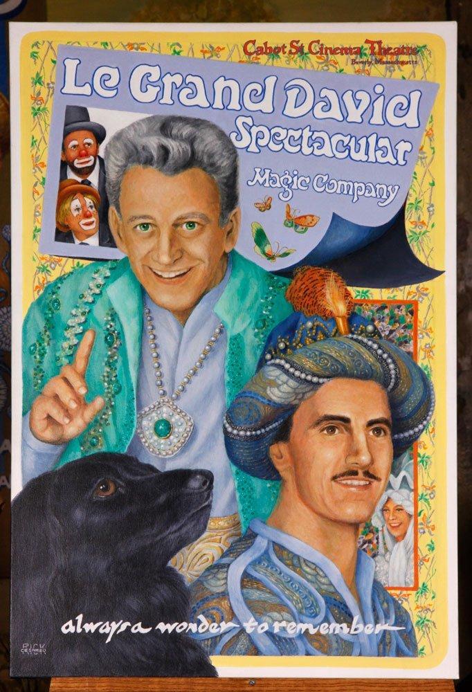 "Heath, ""Le Grand David Spectacular Magic Company"", A/C"