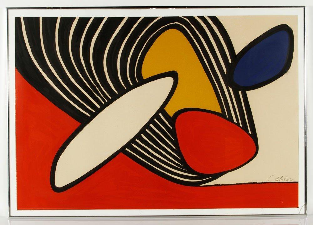 "Calder, ""Navarra,"" Lithograph"