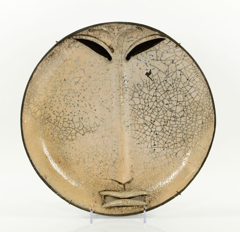 Lorigan, Stoneware Sculptural Plate