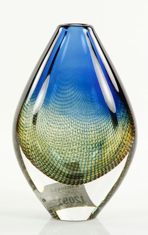 Palmquist, Teardrop Shape Vase