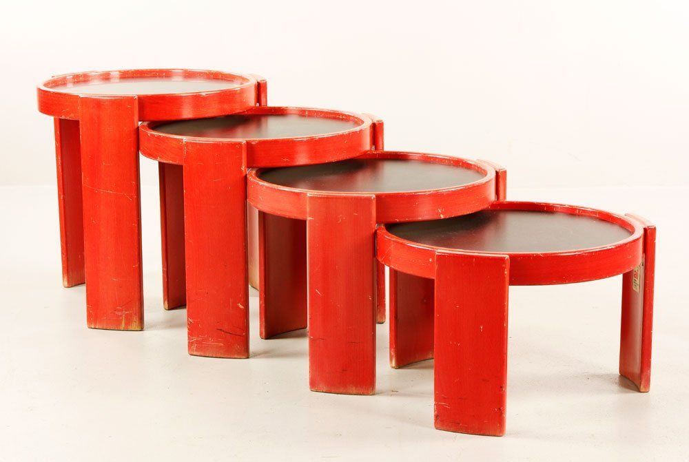 Frattini for Cassina Stacking Tables