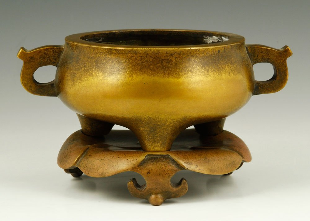 Chinese Republic Period Bronze Censer