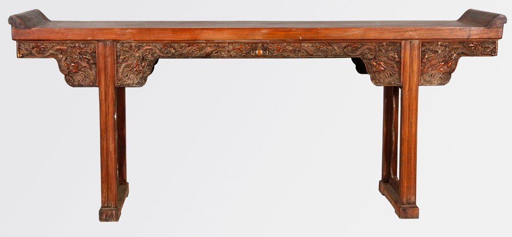 Chinese 17th/18th C. Huanghuali Altar Table
