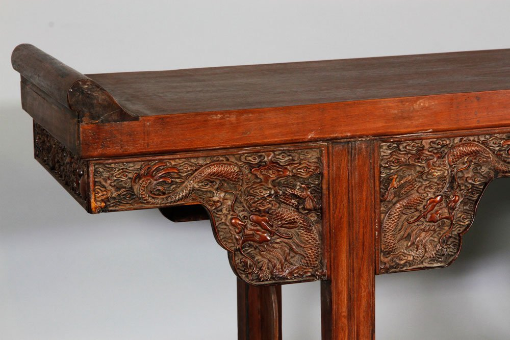 Chinese 17th/18th C. Huanghuali Altar Table - 4