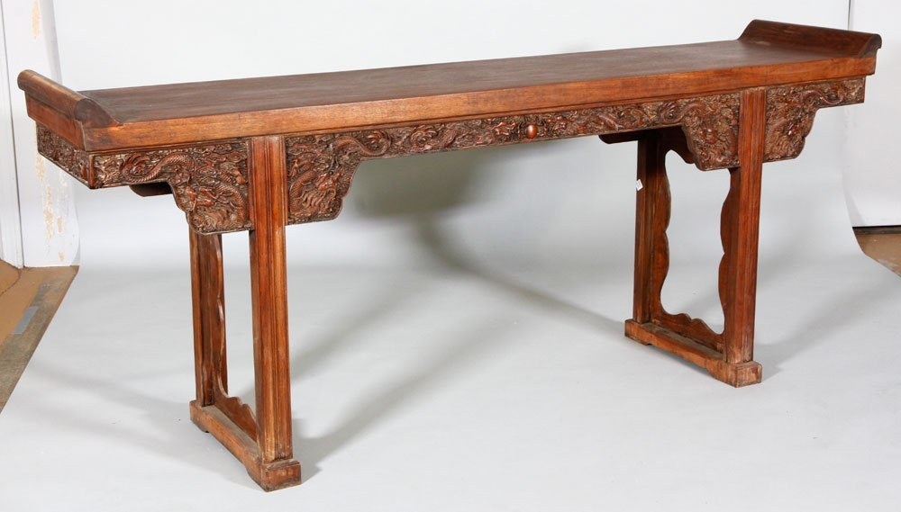 Chinese 17th/18th C. Huanghuali Altar Table - 5