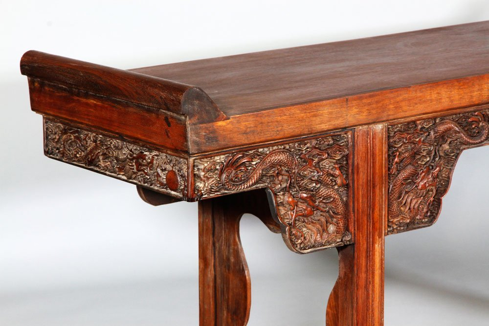Chinese 17th/18th C. Huanghuali Altar Table - 6