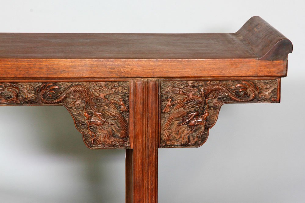 Chinese 17th/18th C. Huanghuali Altar Table - 7