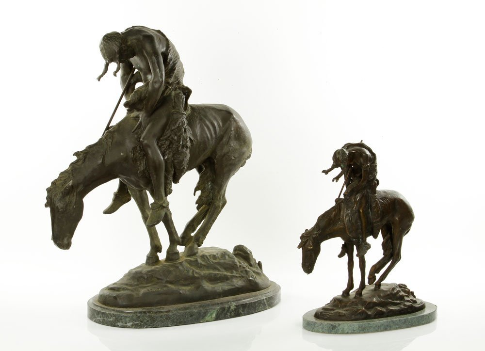 "Fraser, ""End of the Trail,"" Bronze Sculpture"