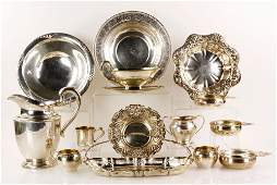 Lot of Assorted Sterling Silver