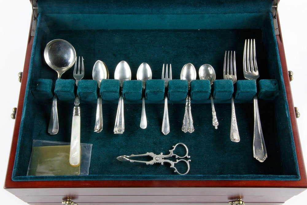 Lot of H. Atkins Silver Pieces - 3