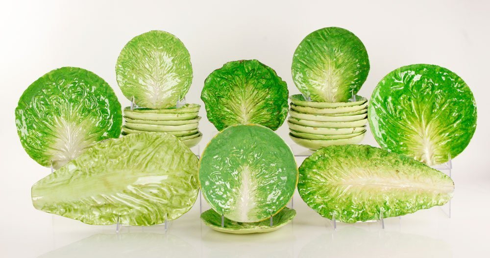 Italian Cabbage Leaf Plates