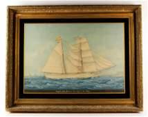 Pineda, Spanish Sailing Ship, W/C