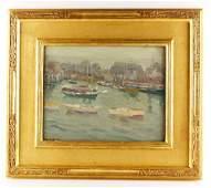 Kaelin, Gloucester Boats at Dock,