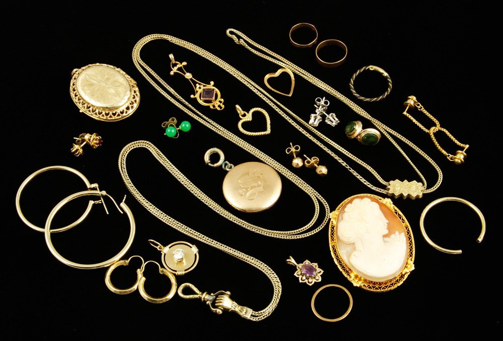 14K Gold Jewelry Collection