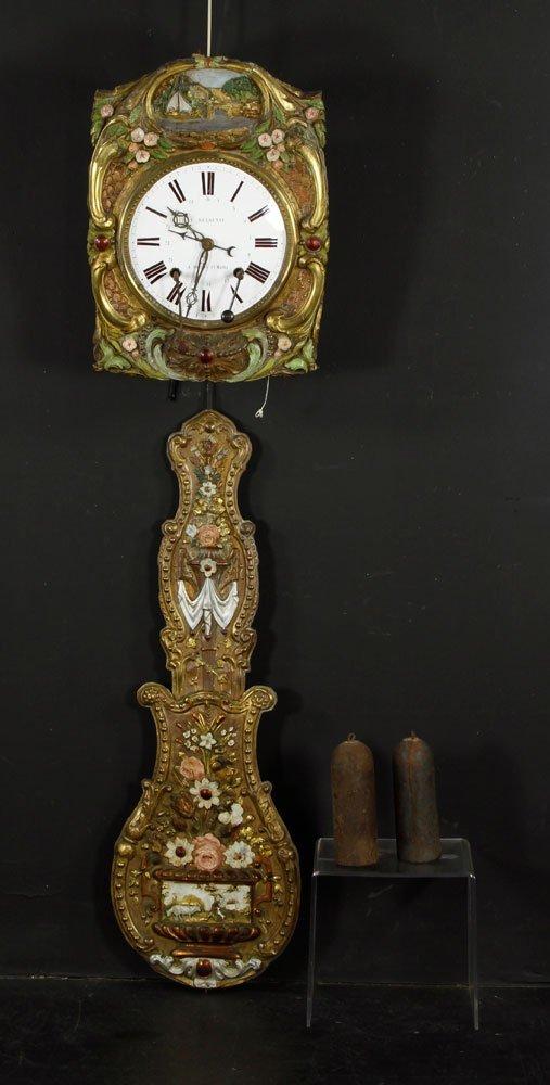 19th C. French C. Delaunay Clock