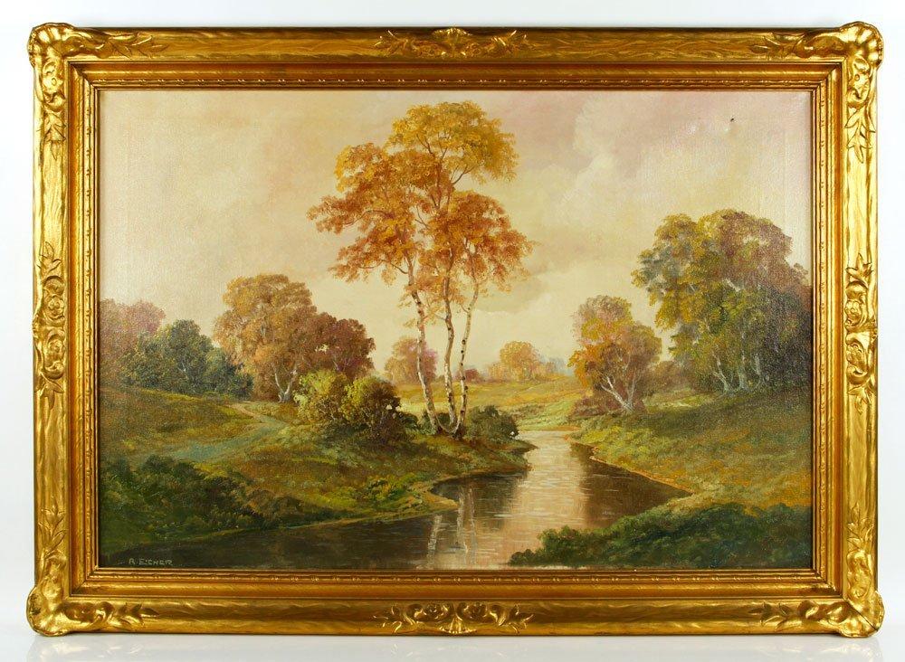 Eicher, Landscape, O/C