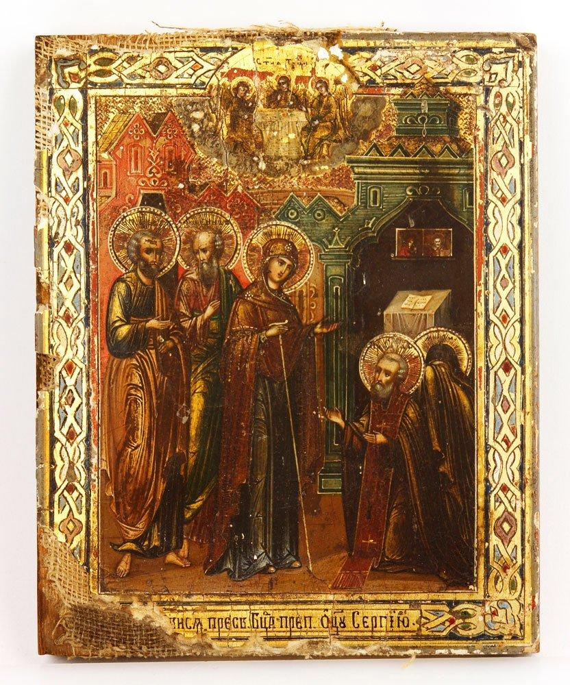 19th C. Russian Icon