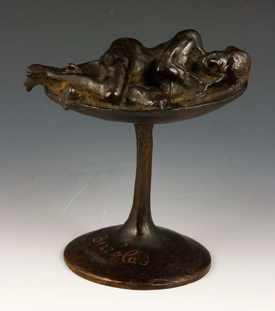 Sleeping Woman, Bronze