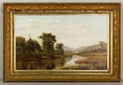 19th C. American Landscape, O/C