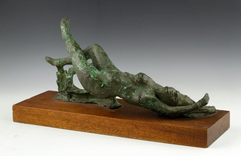 """Vaughn, """"Title Touch"""", Bronze"""