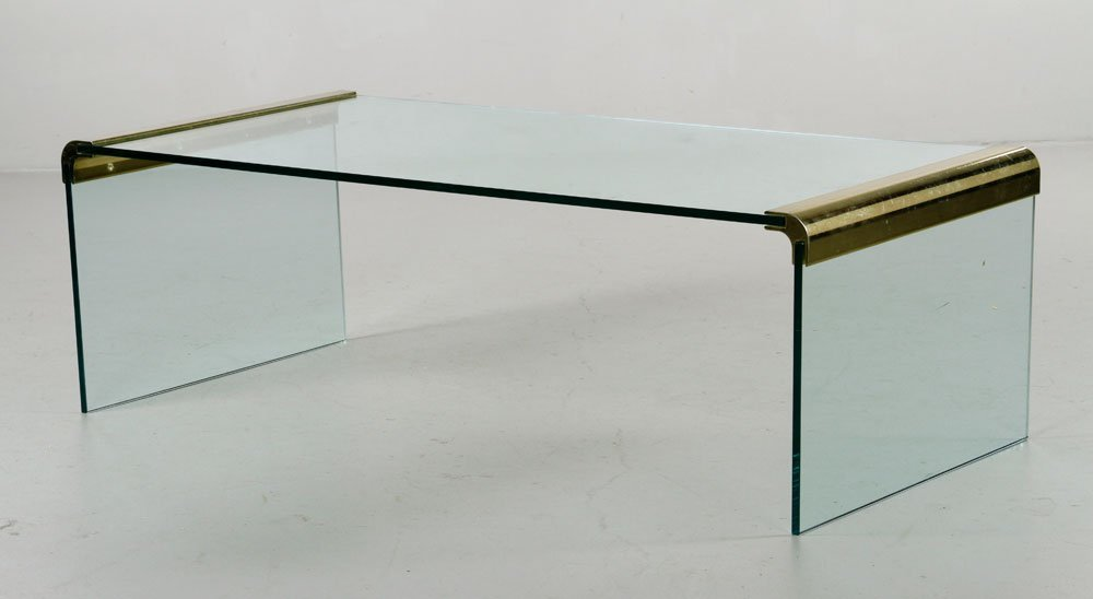 Rosen for Pace Waterfall Coffee Table