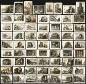 Piranesi, Collection of 64 Prints