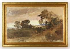 Keith, Landscape, W/C