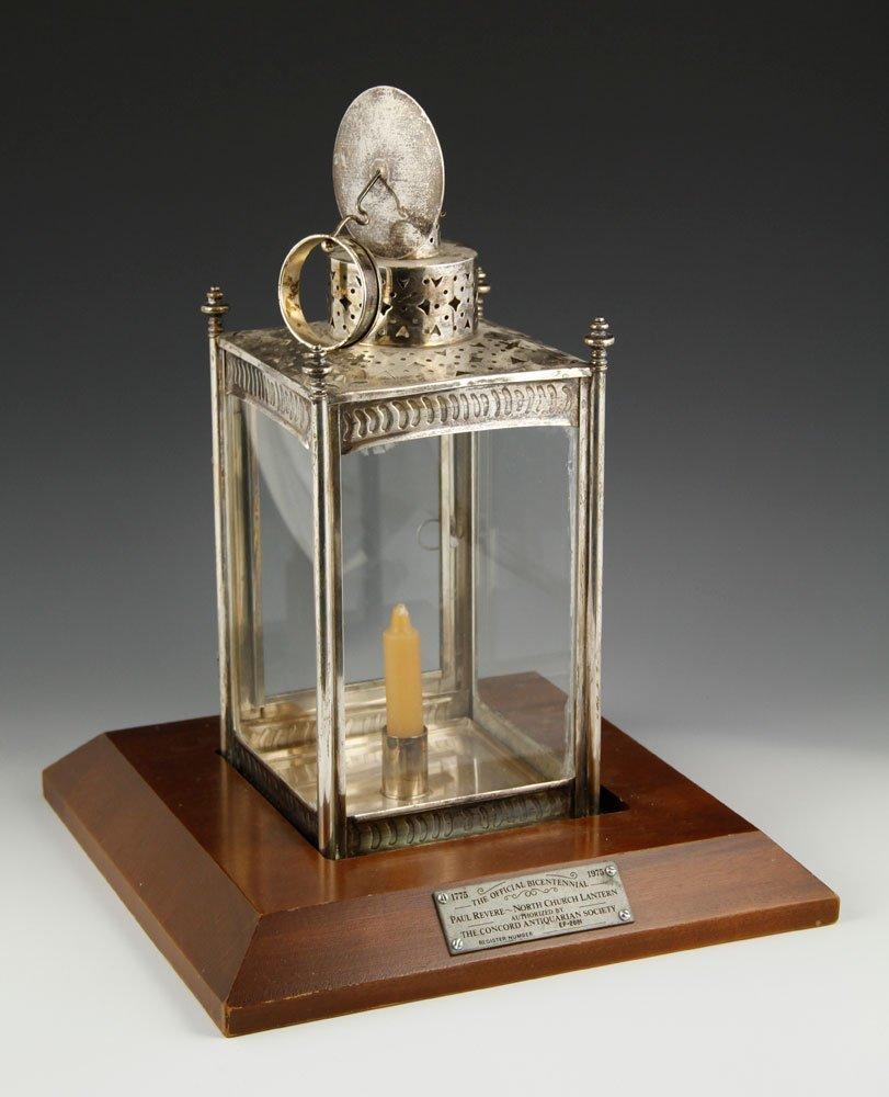 Paul Revere's Ride Bicentennial Sterling Lantern