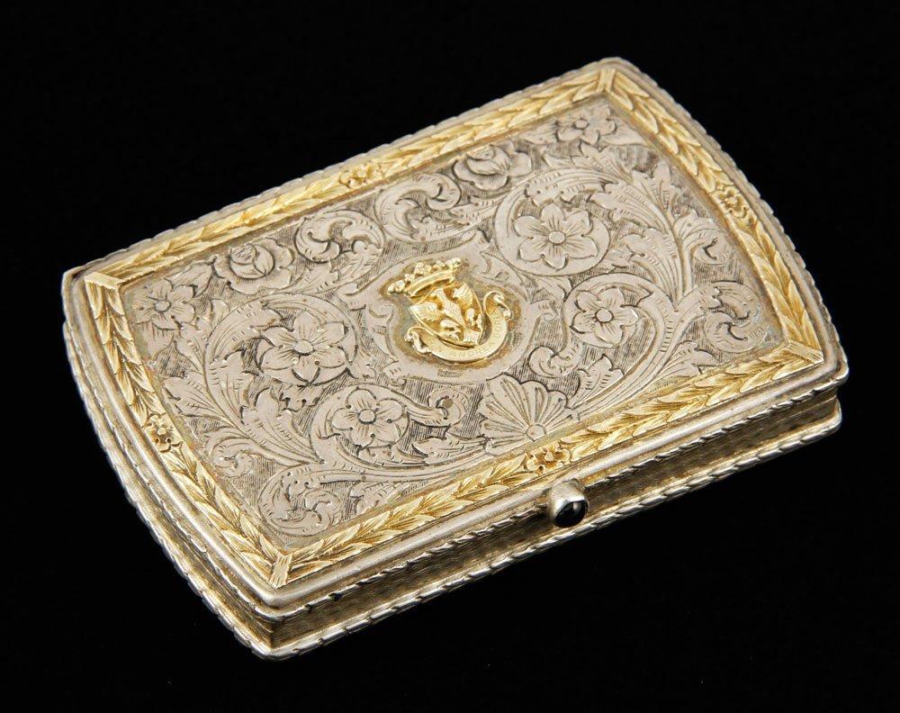 .800 Silver Steamship Card Case