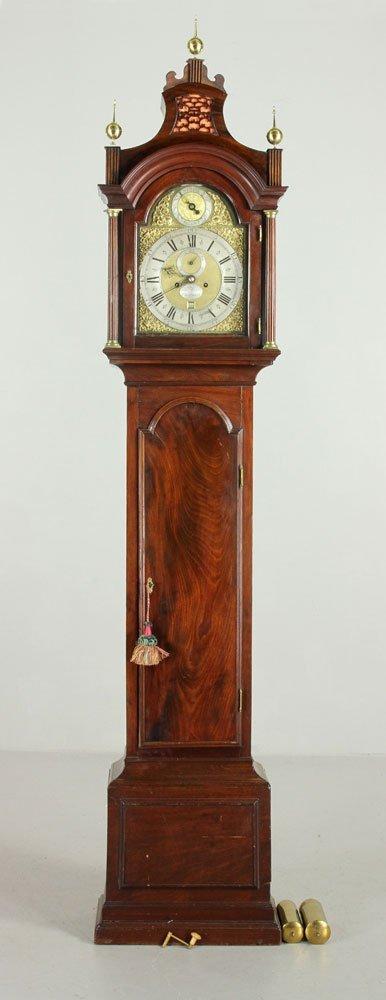 18th C. English Tall Clock