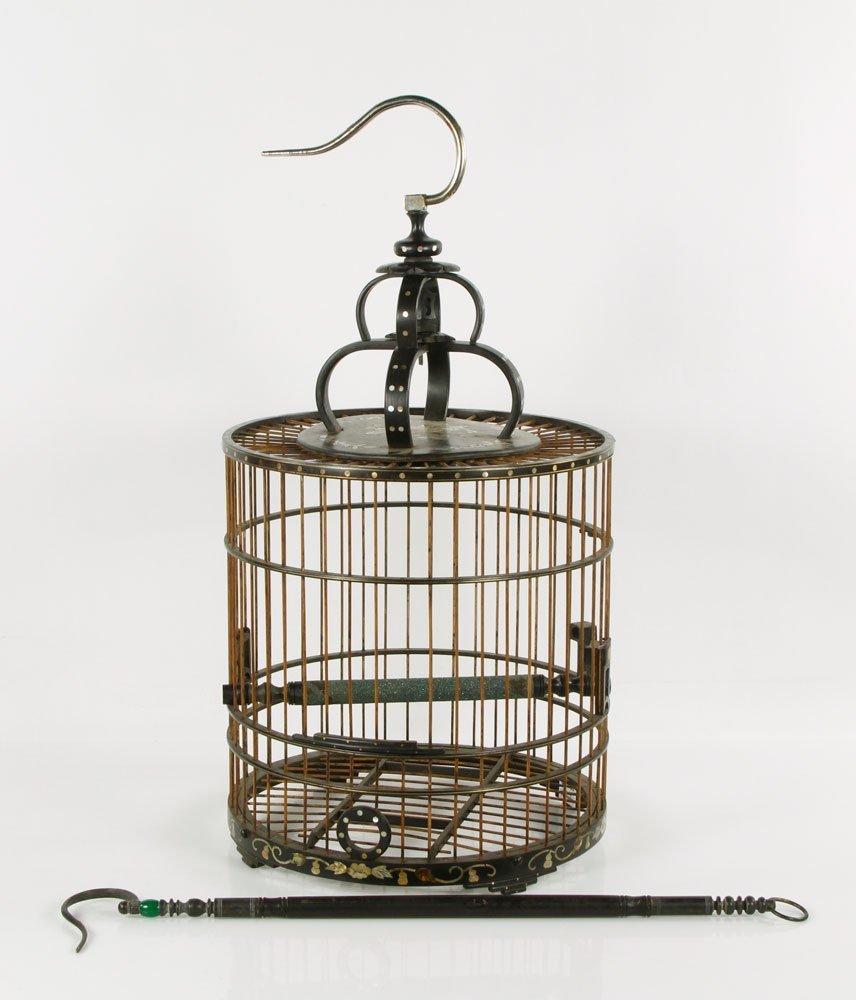 Chinese Zitan Wood Bird Cage