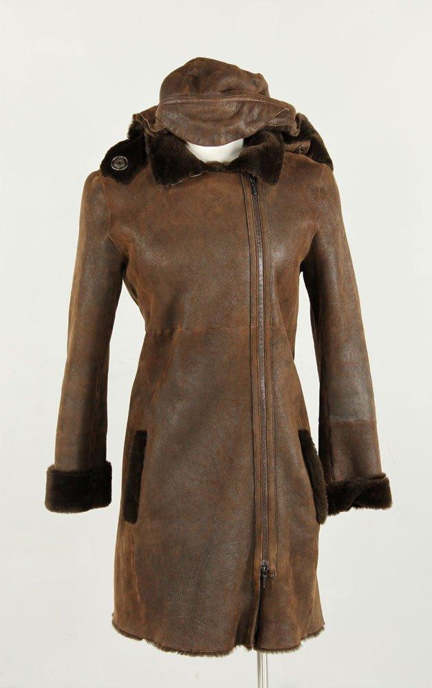 Akris Punto Shearling Coat