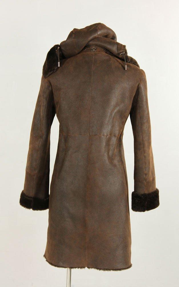 Akris Punto Shearling Coat - 2