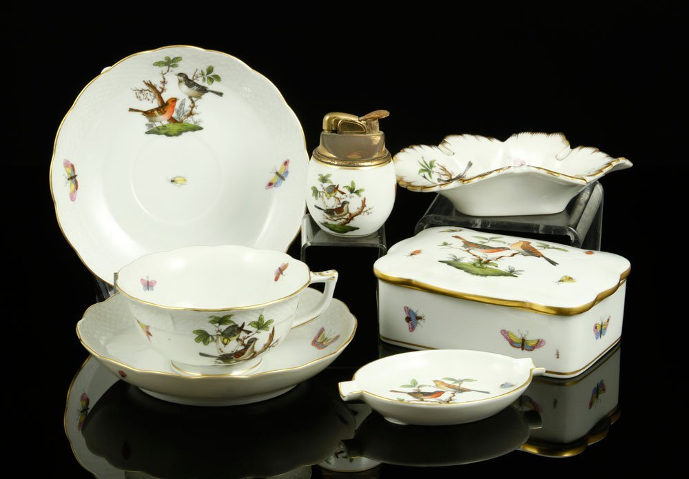 7 Pieces of Herend Porcelain