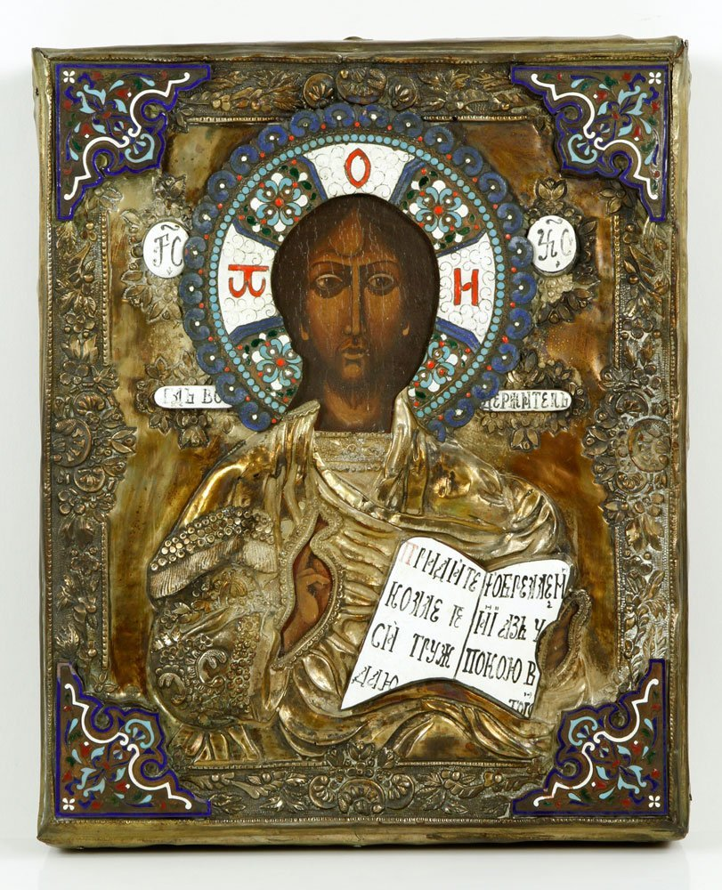 Russian Painted Icon