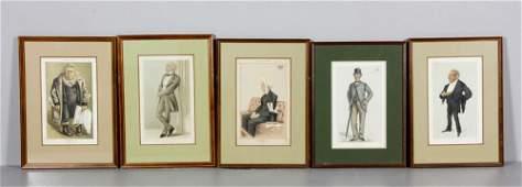 Assorted Vanity Fair Spy Prints