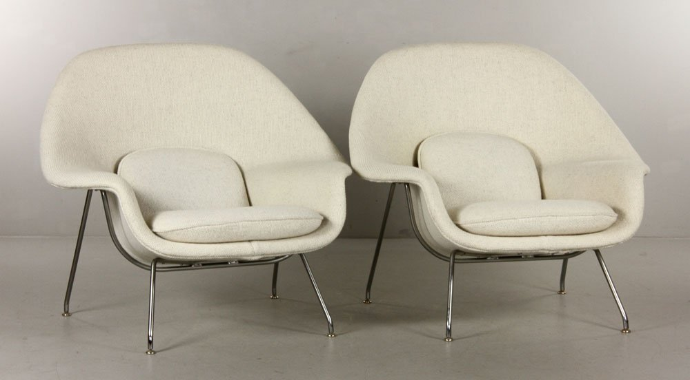 """Pr. Knoll """"Womb"""" Chairs"""