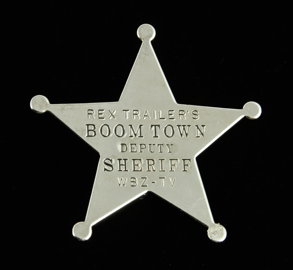 """Official """"Rex Trailer's Boomtown Deputy Sheriff"""" Badge - 2"""