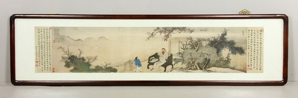 Chinese Painting after Yu Zhiding, W/C
