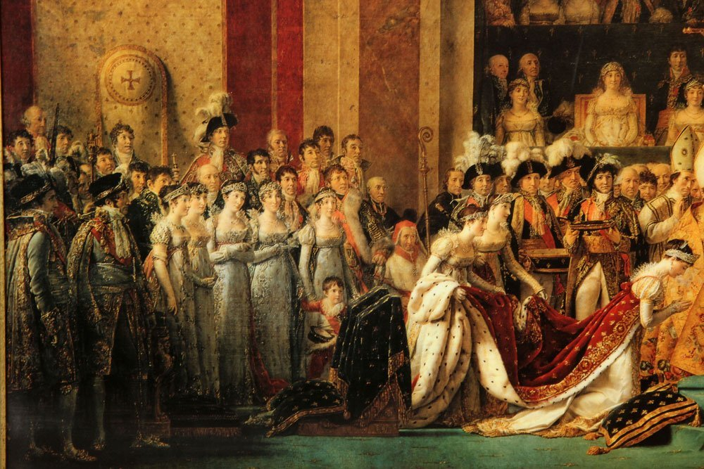 Napoleon Crowning Josephine, Offset Lithograph - 3