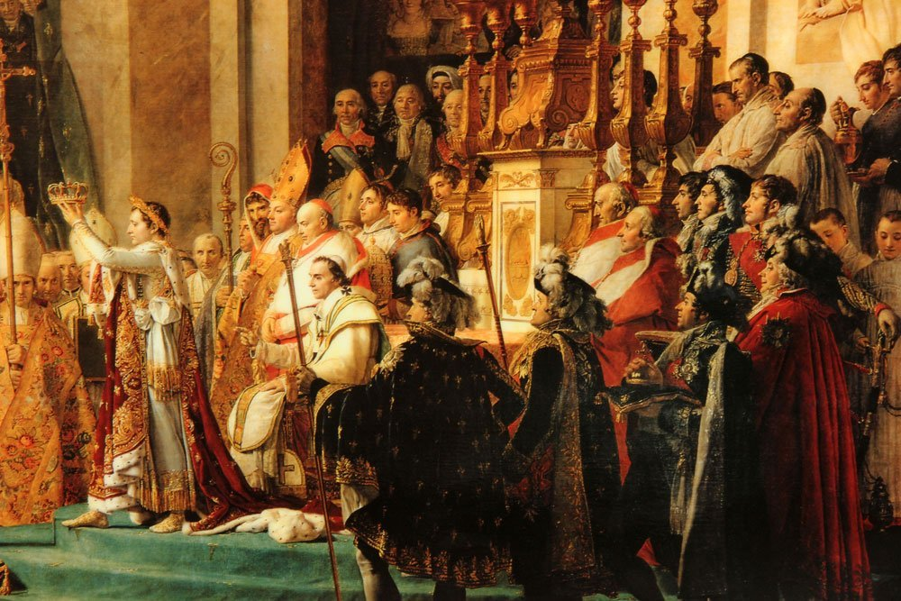 Napoleon Crowning Josephine, Offset Lithograph - 4