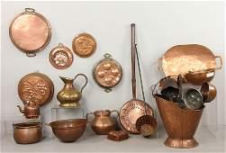 Lot of 19th/20th C. Copper Items