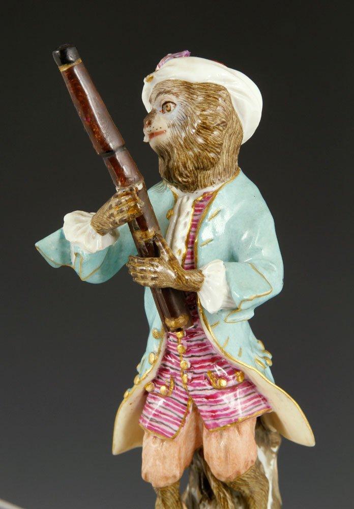 Meissen Monkey Band Figurines - 4