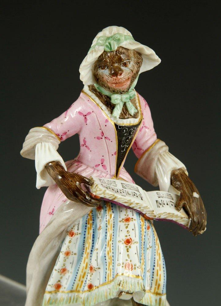 Meissen Monkey Band Figurines - 5