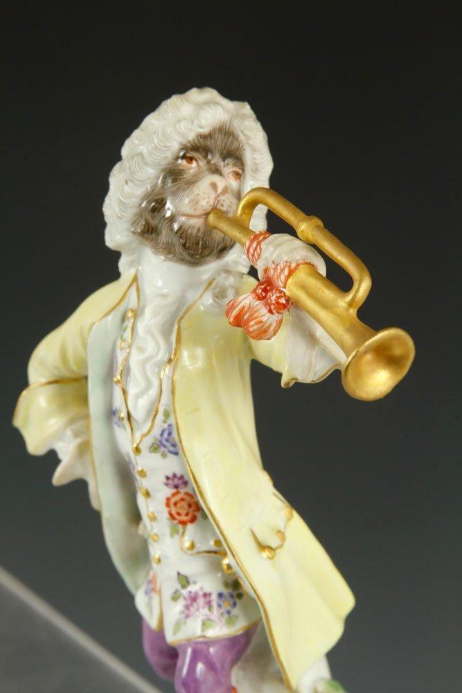 Meissen Monkey Band Figurines - 6