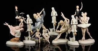 Lot of Boehm Ballet Figures