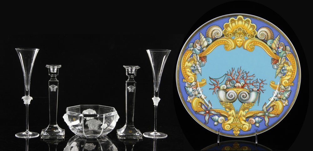Lot of Rosenthal Versace Pieces