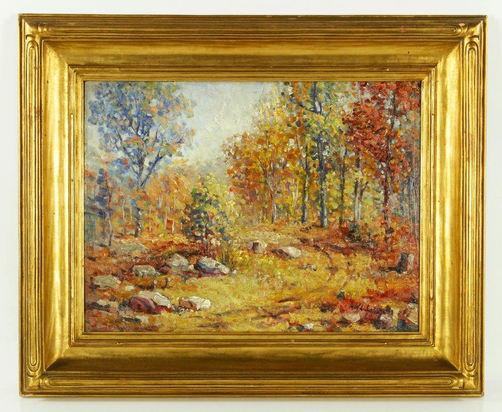 Saling, Fall Landscape, O/P