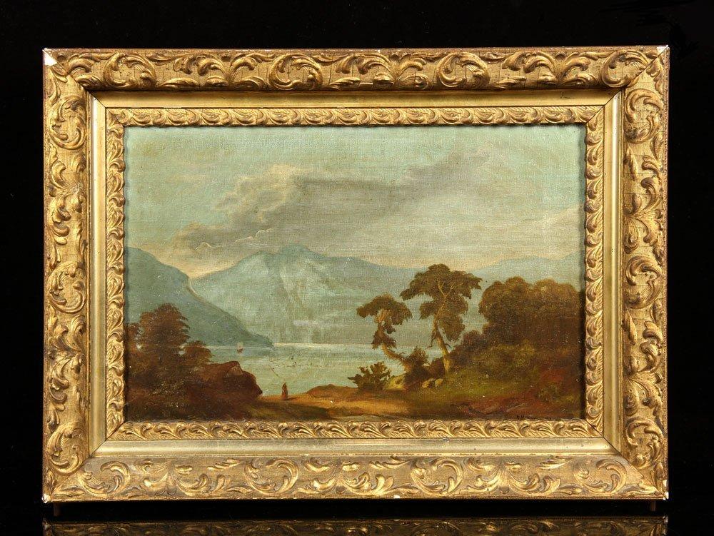 Anquera, Hudson River School Landscape, O/C