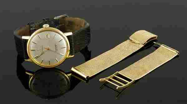 Omega 18K Gold Men's Wristwatch